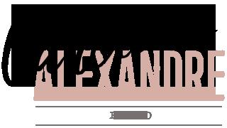 logo web de caroline alexandre photographe strasbourg alsace et environs